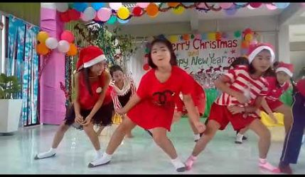กิจกรรมวันคริสต์มาส โรงเรียนบ้านบึง(สันติมโนประชาสันค์)