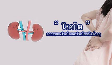 โรคไต อาการของโรคไตและโรคไตชนิดต่างๆ